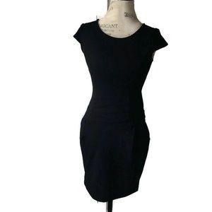 NWT Gap Black Sheath Pocket Dress Back Zipper